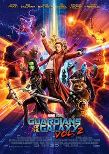 3D - GUARDIANS OF THE GALAXY  2